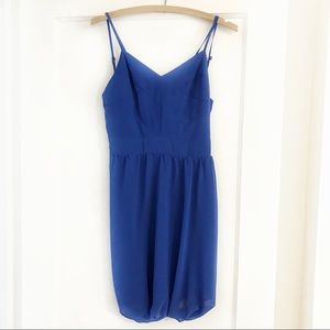 Like New - Keepsake Royal Blue Dress